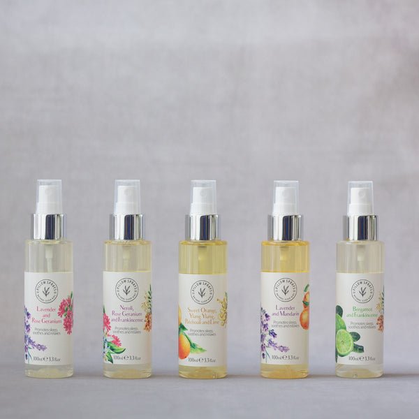A Collection of our Pillow Sprays to aid Sleep