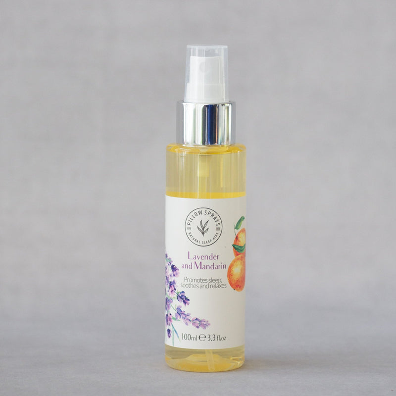 Lavender and Mandarin Pillow Spray to aid Sleep