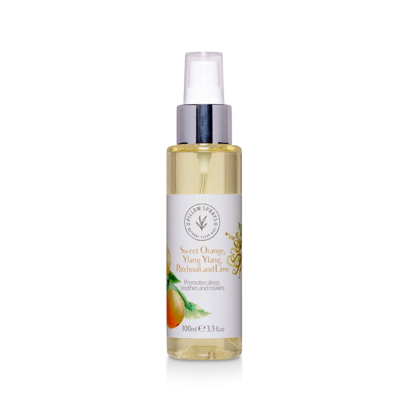 Sweet Orange, Ylang Ylang, Patchouli and Lime Pillow Spray
