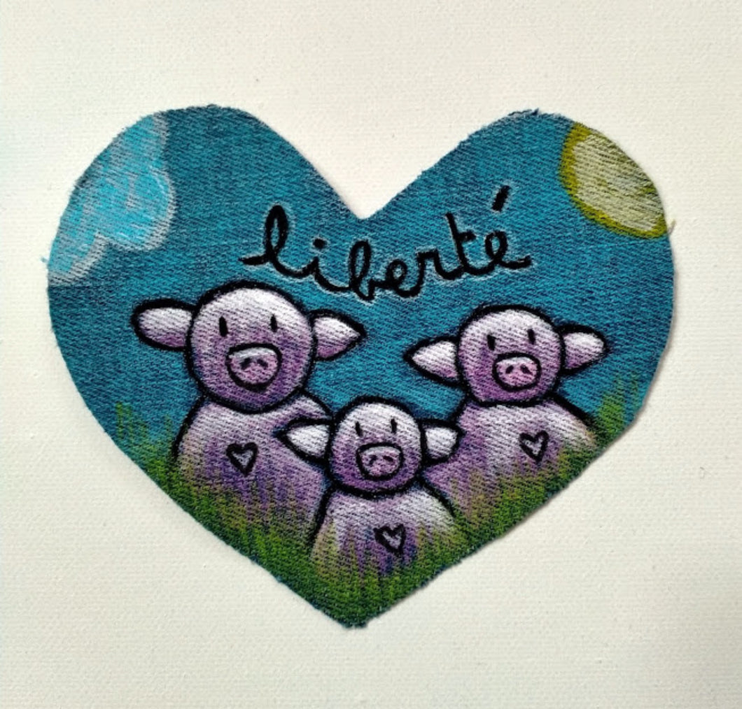 Patch coeur