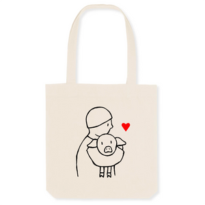 "Tote Bag ""Save animals"""