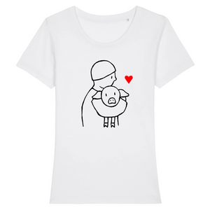 "T-shirt Femme ""Save animals"""