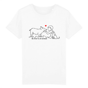 "T-shirt Enfant ""Be kind to all animals"""