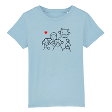 "Load image into Gallery viewer, T-shirt Enfant ""Vivre ensemble"""