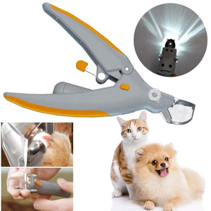 Led Light Nail Clippers For Cat Dog