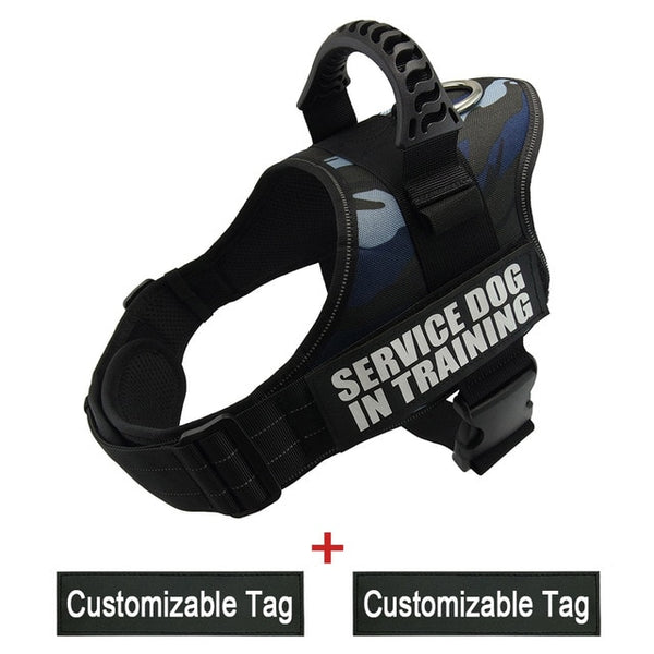 No Pull Reflective Adjustable Dog Harness