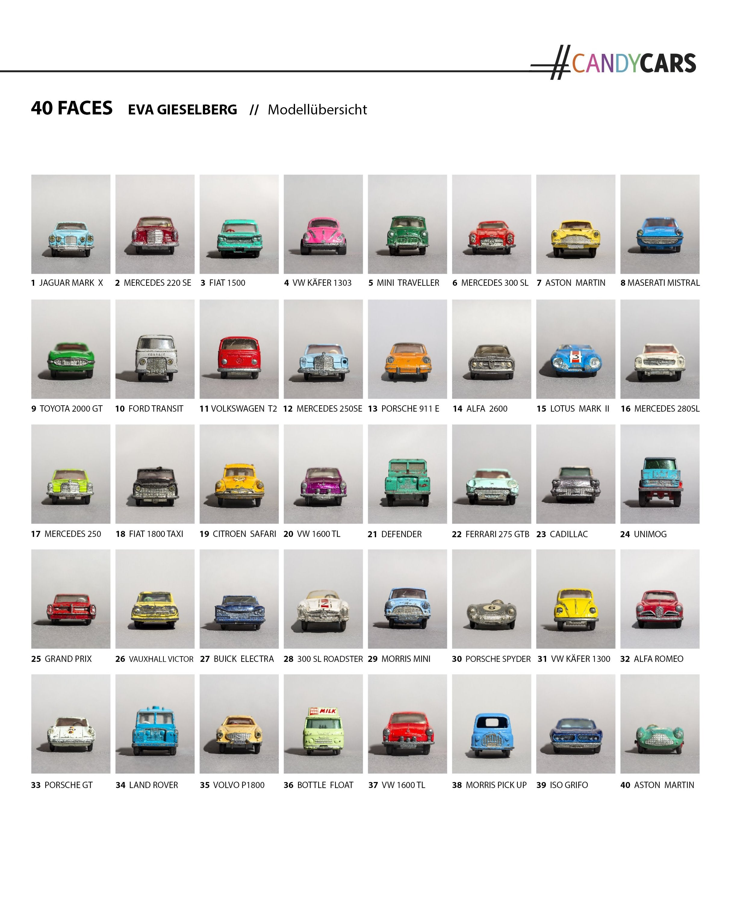 artwork series photography cars