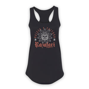 Quetzalcoatl Ladies Tank Top - Black
