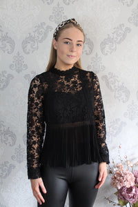 Lace Sleeve Top (more colours available)
