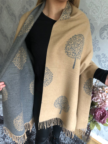 Mulberry Tree Wool Scarf (more colours available)