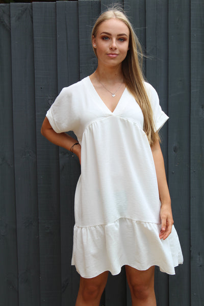 V-Neck Smock Dress (more colours available)