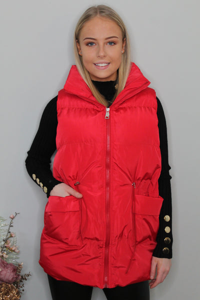 'Anastasia' Padded Gilet (more colours available)