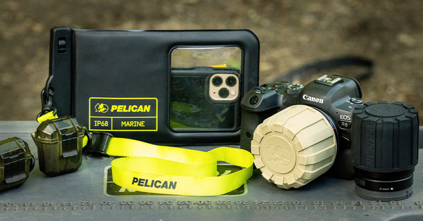 Pelican Outdoor rugged lens cover lifestyle
