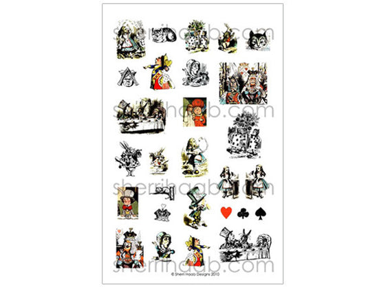 ITS Collection Sheet - Alice in Wonderland