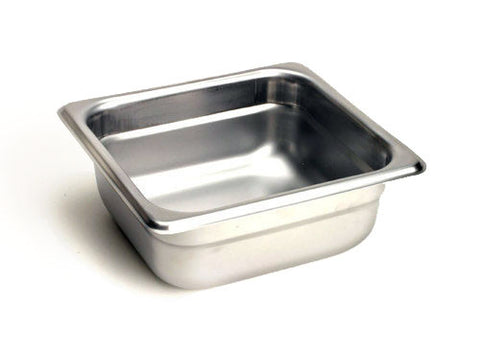 "E3 Stainless Steel Pan (6"" x 6"")"