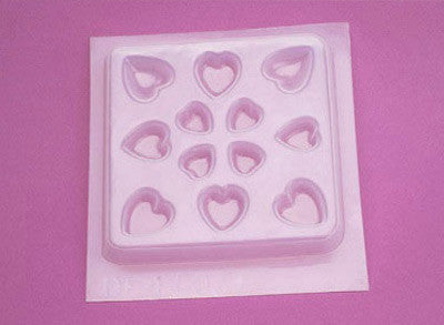 Resin Mold - Assorted Hearts