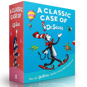 Dr. Seuss's Beginner Book Collection (Cat in the Hat, One Fish Two Fish, Green Eggs and Ham, Hop on Pop, Fox in Socks) box of 20 books