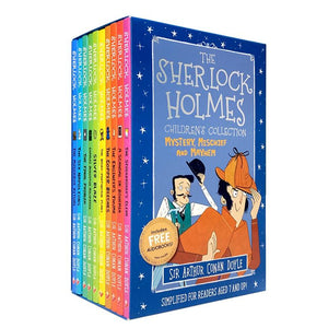 The Sherlock Holmes Children's Collection: Shadows, Secrets and Stolen Treasure 10 Book Box Set