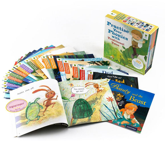 Oxford Reading Tree Practice Your Phonics  with Traditional Tales(20 books)