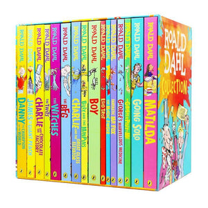 Roald Dahl Collection 16 Books Box Set Including The BFG, Matilda and Charlie and the Chocolate Factory