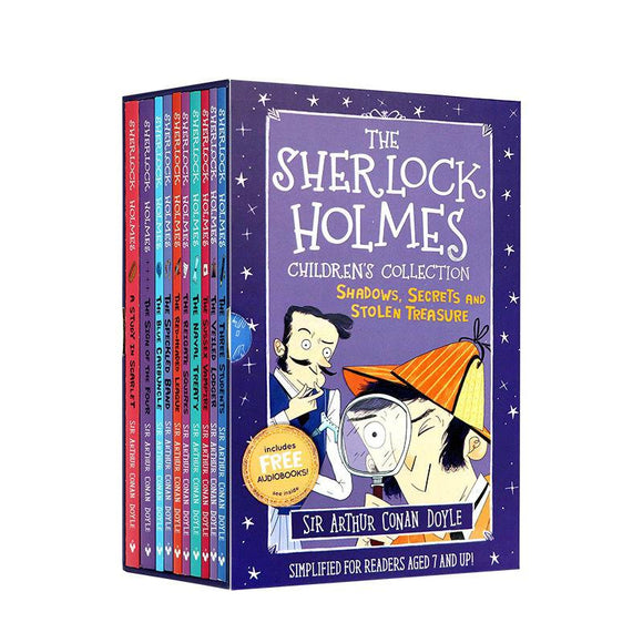 Sherlock Holmes Detective Case Season 1 Full Boxed 10 Books