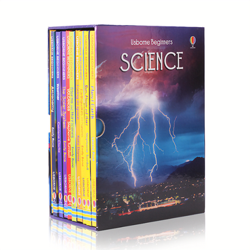Usborne Beginners Science 10 Hardcover books gift boxes