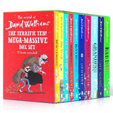 The World of David Walliams: Mega-tastic Box Set(Full set of 10 books)