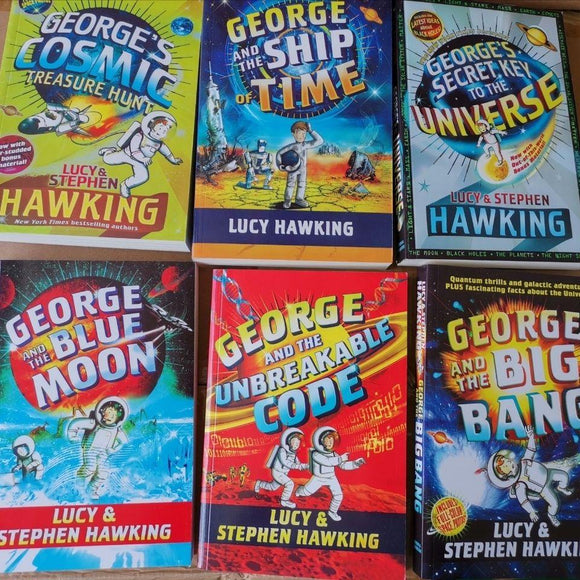 George's Secret Key Complete Paperback Collection 1-6 Boxed Set