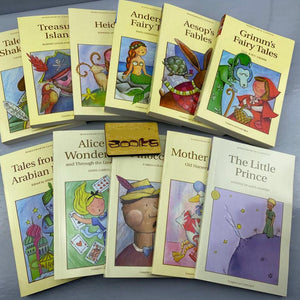 English original version of Andersen's fairy tales,Grimm's fairy tales ,Treasure Island, The Little Prince series 11 books