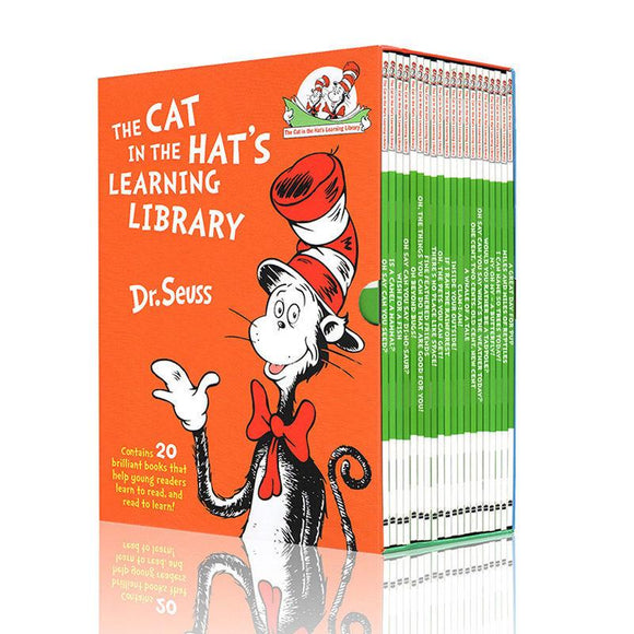 Dr. Seuss- Cat in the Hat's Popular Science Books Library 20 books
