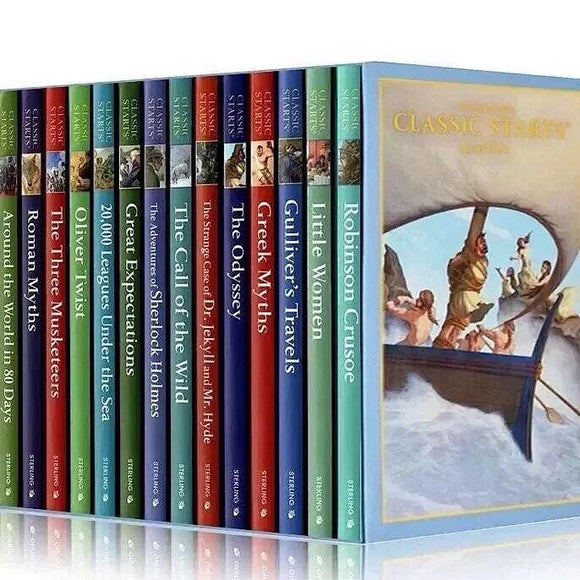 Sterling Classic Starts Series Level 2 Hardcover Gift Box Edition(15 books)