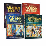 National Geographic Treasury of Norse/Egyptian/Greek Mythology(hardcovers books)