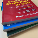 Advanced Grammar in Use with Answers 3 books