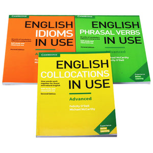 English Idioms/Phrasal Verbs/Collections in Use Advanced Book with Answers 3 books