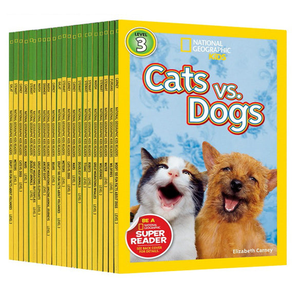 National Geographic Kids Readers L3 22 volumes