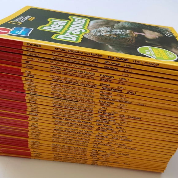 National Geographic Kids Level1 Full set 38 volumes