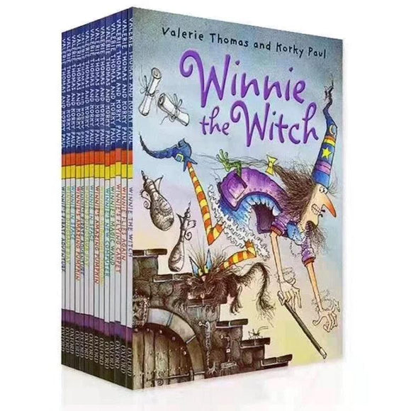 Winnie the witch series of 14 picture books