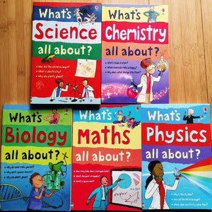 what's science/chemistry/biology/maths/physics all about 5 volumes