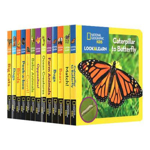 National Geographic Children's Edition National Geographic 12-volume Encyclopedia Animal Cardboard Book