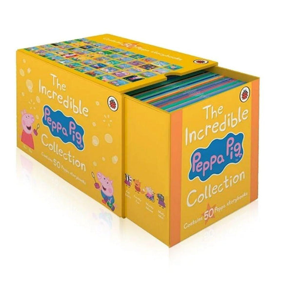Peppa Pig 1-50 Collection Gift Boxed Set-Yellow