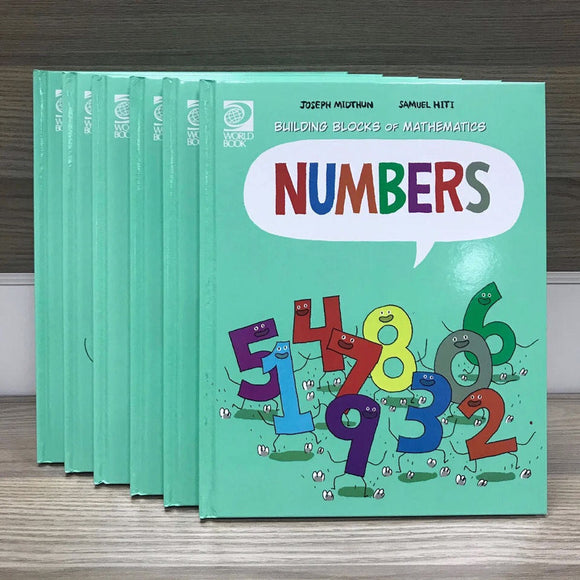 Building Blocks mathematics 6 sets of comics and illustrations(Handcover)