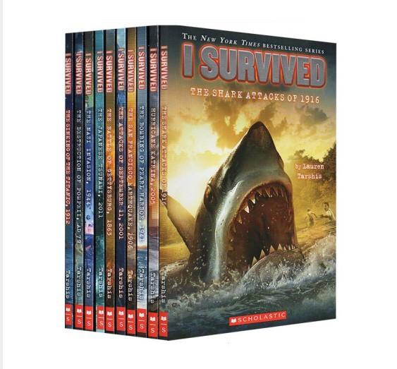 I Survived Ten Thrilling Stories: 10 volumes of survivor series: disaster history novels