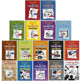 Diary of a Wimpy Kid 16 Books Collection Set by Jeff Kinney