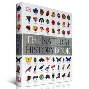 The Natural History Book: The Ultimate Visual Guide to Everything on Earth (Hardcover Thickened Version)