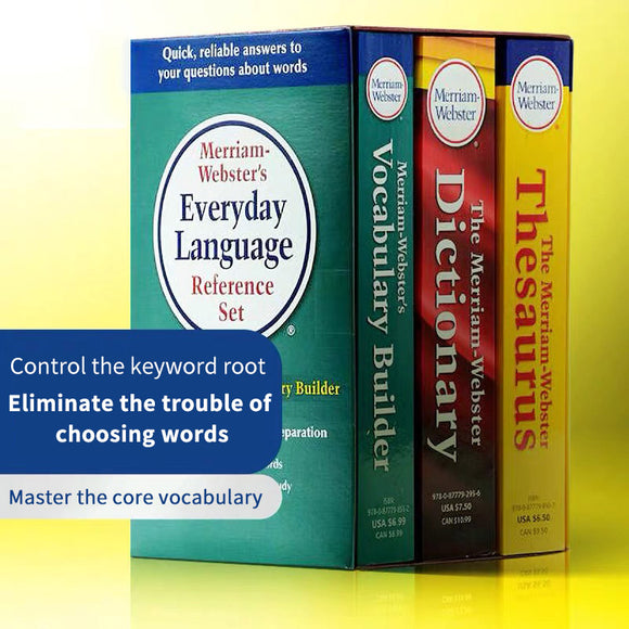Merriam-Websters Everyday Language Reference Set 3books