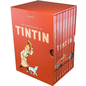 The Adventures of Tintin Hardcover Edition Complete set of 8 volumes