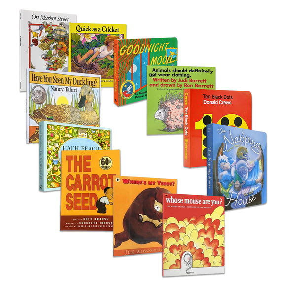 Recommended by nursery school  11books