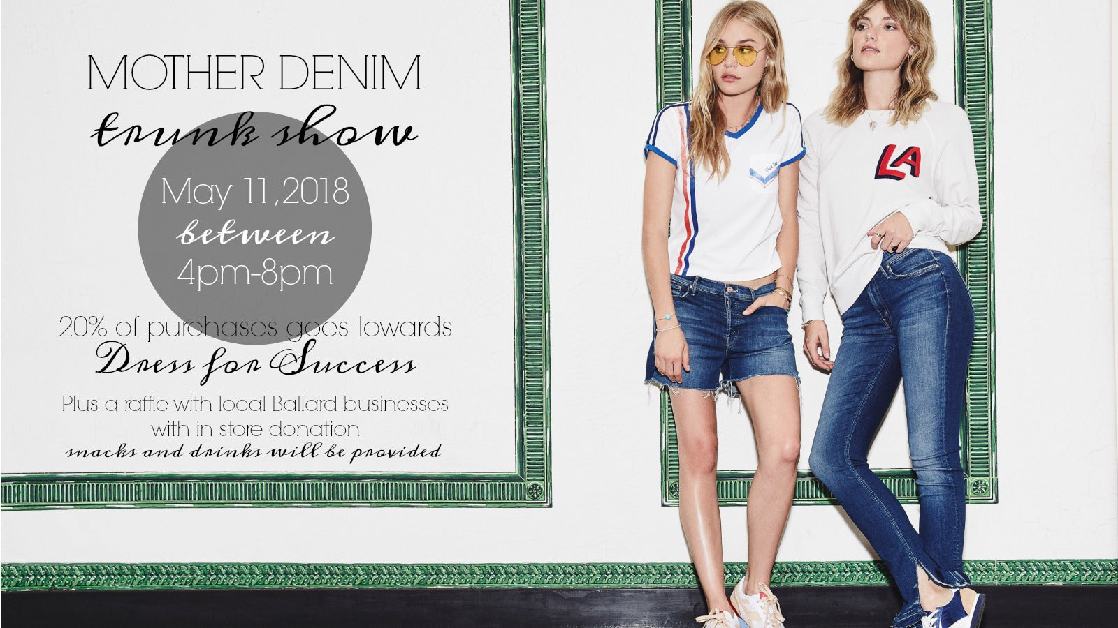 Mother Denim Trunk Show: May 11th