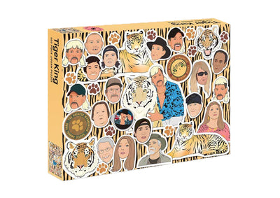 Tiger King: 500 piece jigsaw puzzle - Print Matters!