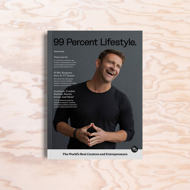 99 Percent Lifestyle – Issue 6 - Print Matters!
